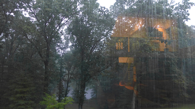 Claire Yaffa Photography Blog The House Reflected In The Beautiful Rain